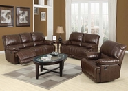 ACME Daishiro 50745-50746 CHESTNUT LEATHER MOTION SOFA SET