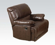 ACME Daishiro 50747 CHESTNUT B. LEATHER RECLINER