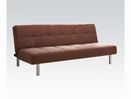 ACME Darlington 05996 COFFEE ADJUSTABLE SOFA W/CA FOAM