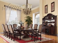ACME Delphia 60285-60287 CHERRY DINING TABLE SET