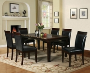 ACME Denzil 70786-70788 FAUX MARBLE DINING TABLE SET