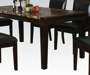 ACME Denzil 70786 FAUX MARBLE DINING TABLE