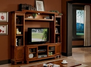 ACME Dita 91095-91098 LIGHT OAK ENTERTAINMENT CENTER
