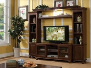 ACME Dita 91105-91108 WALNUT ENTERTAINMENT CENTER