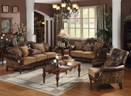 Acme Dreena 05495 Leather Sofa Set