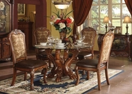 ACME Dresden 60010-60012 CHERRY DINING TABLE SET