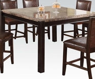 Acme Dwayne 70765 Marble C. Height Dining Table