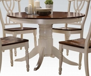 ACME Dylan 70330 DINING TABLE (BUTTERMILK/OAK)