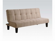 ACME Emmet 05673 BEIGE MFB ADJUSTABLE SOFA