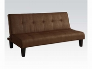 ACME Emmet 05674 CHOCOLATE MFB ADJUSTABLE SOFA