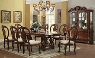 ACME Frederick 60360-60363 CHERRY DOUBLE PED DINING TABLE SET
