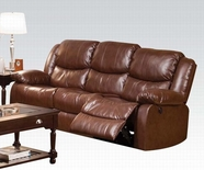 ACME Fullerton 50200 BROWN BLM SOFA W/POWER MOTION