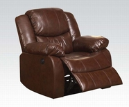 ACME Fullerton 50202 BROWN BLM RECLINER W/POWER MOTION