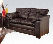 ACME Hayley 50356 PREMIER CHOCOLATE LOVESEAT