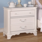 ACME Ira 30148 WHITE NIGHTSTAND