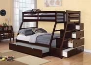 ACME Jason 37015 ESPRESSO BUNK BED & TRUNDLE