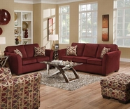 ACME Jayda 50580-50581 MALIBU WINE SOFA SET