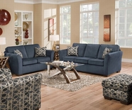ACME Jayda 50585-50586 MALIBU BLUE SOFA SET