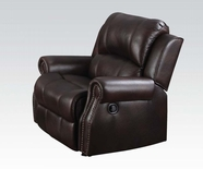 Acme Josef 50777 Brown Recliner