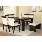ACME Keelin 71035-71038 DINING TABLE SET