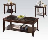 ACME Keenan 80350 3PC PK COFFEE/END TABLE SET