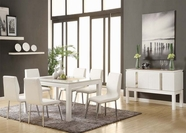 ACME Kilee 70990-70992 WH DINING TABLE SET
