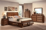 ACME Konance 20450Q-20457-20458 ANTIQUE OAK BEDROOM SET