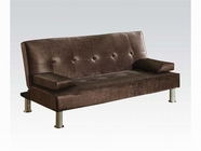 ACME Korb 57069 CHOCOLATE PU ADJUSTABLE SOFA