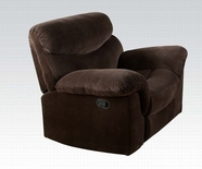 ACME Loakim 50482 CHOCOLATE CHAMPION RECLINER