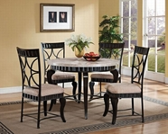 ACME Lorencia 70290-70292 ROUND DINING SET