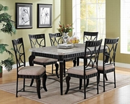 ACME Lorencia 70294-70292 DINING TABLE SET