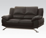 ACME Maigan 51206 BLACK BLM LOVESEAT