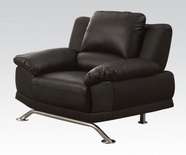 ACME Maigan 51207 BLACK BLM CHAIR