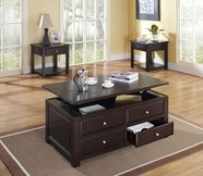 ACME Malachi 80257-80258 ESPRESSO OCCASIONAL TABLE SET