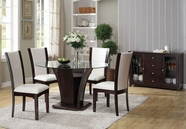 "ACME Malik 70500-70502 54""RD DINING TABLE SET"