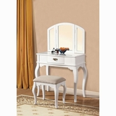 ACME Maren 90101-90103 WHITE VANITY SET