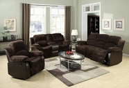 ACME Masaccio 50470-50473 DARK BROWN CHAMPION & PU SOFA SET W/MOTION