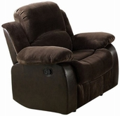 ACME Masaccio 50472 DARK BROWN CHAMPION & PU CHAIR W/MOTION