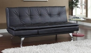 ACME Matai 57064 BLACK PU ADJUSTABLE SOFA