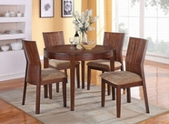 "ACME Mauro 70542-70546 42"" DIA DINING TABLE SET"