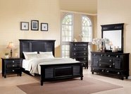 ACME Merivale 22440Q-22444-22445 Black Bedroom Set