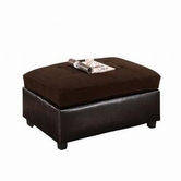ACME Milano 51327 CHOCOLATE OTTOMAN