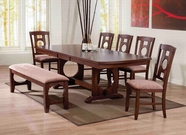 ACME Naldo 60245-60247 DARK WALNUT DINING TABLE SET