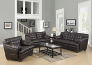 ACME Neonard 50820-50821 BROWN BLM SOFA SET