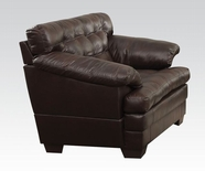 ACME Neonard 50822 BROWN BLM CHAIR