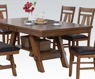 ACME Nevan 60235 OAK DINING TABLE