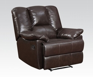 ACME Obert 51282 TOP GRAIN L.M RECLINER
