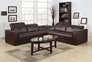 ACME Odell 50235 DARK BROWN BL SECTIONAL