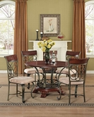 ACME Omari 70100-70103M ROUND DINING SET
