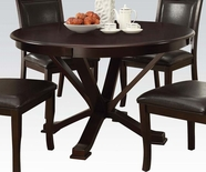 "ACME Osbert 70515 48"" DIA ESPRESSO DINING TABLE"